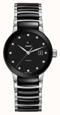 RADO Centrix Automatic Diamonds Ceramic Bracelet Watch R30009752