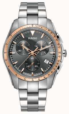 Rado XXL HyperChrome Chronograph Stainless Steel Grey Dial Watch R32259163
