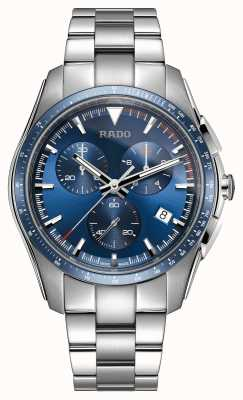 RADO XXL HyperChrome Chronograph Stainless Steel Blue Dial Watch R32259203