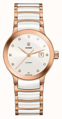 Rado | Centrix | Automatic | Diamond Set | Ceramic Bracelet | R30183742