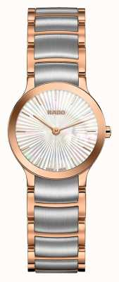 Rado | Centrix | Two Tone Stainless Steel | Mother Of Pearl Dial R30186923