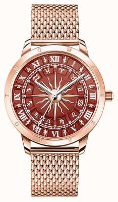 Thomas Sabo | Women's Glam Spirit Astro | Red Dial | Rose Gold Mesh WA0353-265-212-33