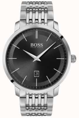 Boss | Men's Premium Classic | Stainless Steel | Black Dial | 1513746
