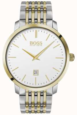 Boss | Men's | Premium Classic | Two Tone | Silver Dial | 1513747