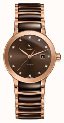 Rado | Centrix | Automatic | Diamond Set | Ceramic Bracelet | R30183752