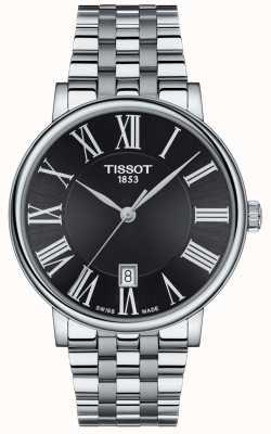 Tissot | Men's Carson | Stainless Steel Bracelet | Black Dial | T1224101105300