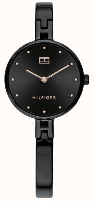 Tommy Hilfiger Kit | Black IP Stainless Steel Bracelet | Black Dial 1782136