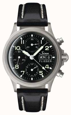 Sinn 356 Pilot Traditional Chronograph (English Date) 356.022-BL41201834001110402A