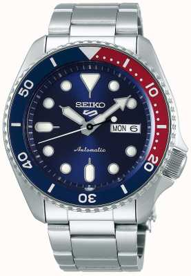Seiko 5 Sport | Sports | Automatic | Pepsi Bezel | Ex Display SRPD53K1EX-DISPLAY