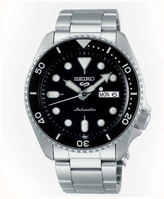 Seiko 5 Sport | Sports | Automatic | Black Dial | Stainless Steel SRPD55K1