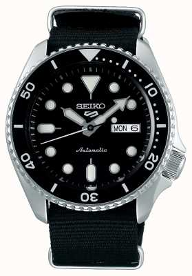 Seiko 5 Sport | Sports | Automatic | Black Dial | Black Rubber SRPD55K3