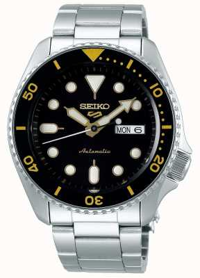 Seiko 5 Sport | Sports | Automatic | Black & Gold Dial SRPD57K1
