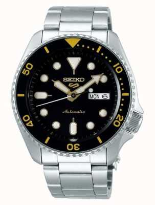 Seiko 5 Sport | Sports | Automatic | Black & Yellow Dial SRPD57K1