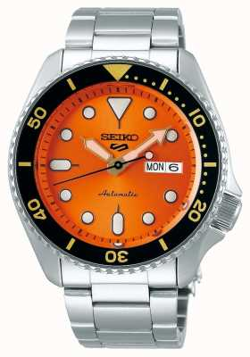 Seiko 5 Sport | Sports | Automatic | Orange Dial | Stainless Steel SRPD59K1