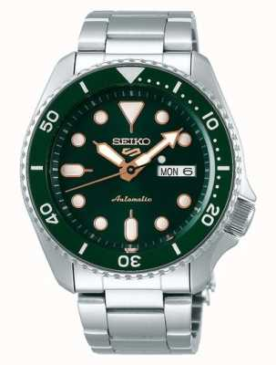 Seiko 5 Sport | Sports | Automatic | Green Dial | Stainless Steel SRPD63K1
