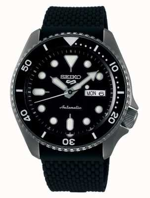 Seiko 5 Sport | Suits | Automatic | Black Dial | Black Rubber SRPD65K2