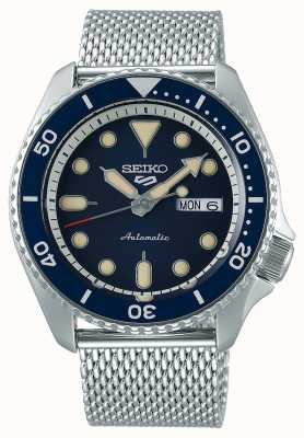 Seiko 5 Sport | Suits | Automatic | Blue Dial | Steel Mesh SRPD71K1