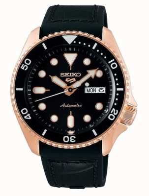Seiko 5 Sport | Specialist | Automatic | Rose Gold & Black SRPD76K1