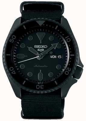 Seiko 5 Sport | Street | Automatic | Black Dial | Black NATO SRPD79K1