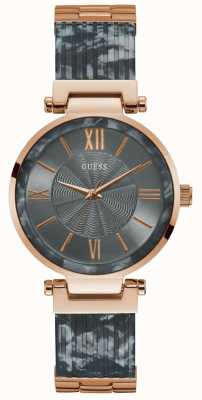 Guess | Women's Soho | Grey/Rose Gold Bracelet | Grey Dial | W0638L11