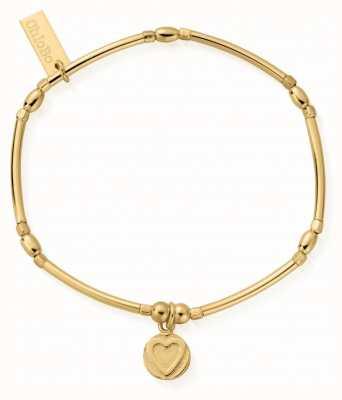 ChloBo | Sterling Silver Gold Plated 'Self Love' Bracelet | GBMNCR2561