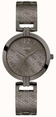 Guess | Women's G-Luxe | Gunmetal Grey Bracelet | Grey Dial | W1228L4