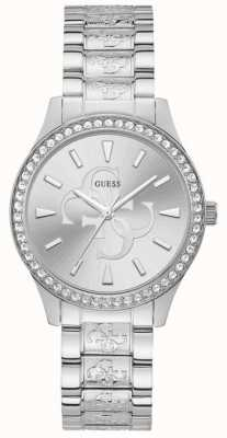 Guess | Women's Anna | Stainless Steel Bracelet | Silver Dial | W1280L1