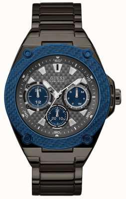 Guess | Men's Legacy | Gunmetal Grey Bracelet | Grey Dial | W1305G3