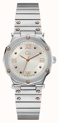 Gc | Spirit Lady | Stainless Steel Bracelet | Silver Dial | Y60001L1MF