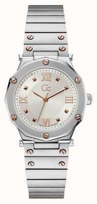 Gc | Spirit Lady | Stainless Steel Bracelet | Silver Dial | Y60001L1MF