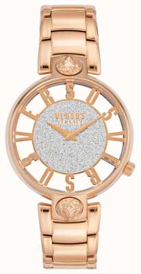 Versus Versace | Women's Kirstenhof | Rose Gold Bracelet | Glitter Dial | VSP491519