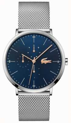 Lacoste | Men's Moon Multi | Steel Mesh Bracelet | Blue Dial | 2011024