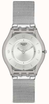 Swatch | Skin Classic | Metal Knit Watch | SFM118M