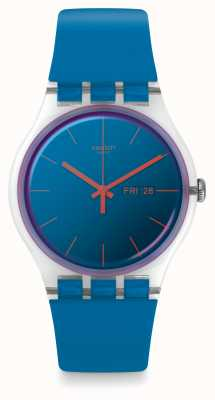 Swatch | New Gent | Polablue Watch | SUOK711