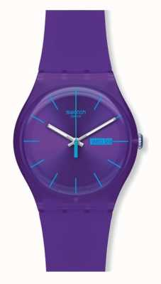 Swatch | New Gent | Purple Rebel Watch | SUOV702