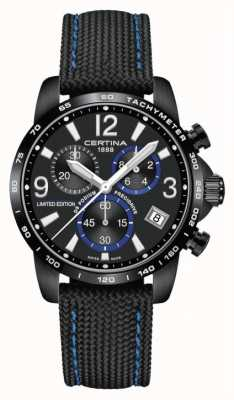 Certina | DS Podium | Chronograph 1/10th Sec | Black Fabric | C0344173805710