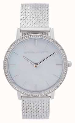 Rebecca Minkoff | Women's Major | Steel Mesh Bracelet | Mother Of Pearl Dial 2200367