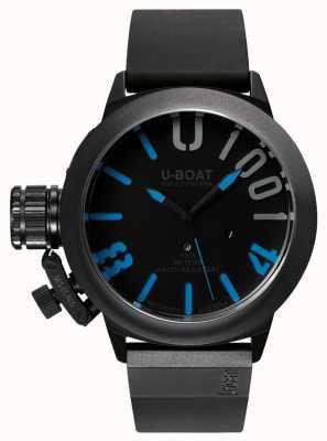 U-Boat Classico 47 1001 IPB Blu Rubber Strap 7541