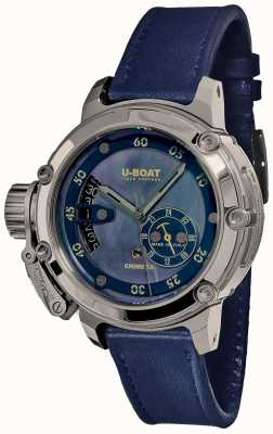 U-Boat Chimera 40mm Stainless Steel Mother Of Pearl 8087