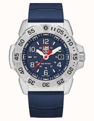 Luminox | Navy Seal Steel 3250 Series | Blue Rubber Strap |Blue Dial XS.3253