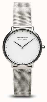 Bering | Max René | Women's Polished Silver | Steel Mesh Bracelet | 15730-004
