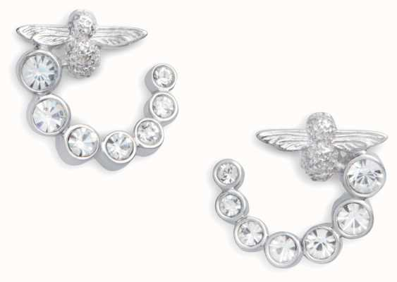 Olivia Burton | Bejewelled Bee Swirl | Swarovski | Earrings | OBJAME163
