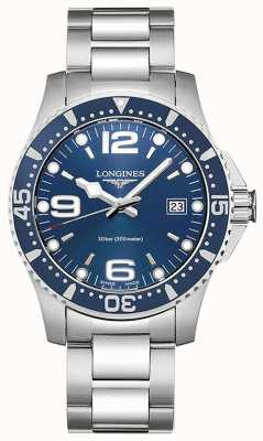 Longines Hydroconquest | 41mm Case | Blue Dial | Diving Watch L37404966