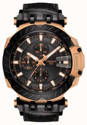 Tissot | T-Race | Automatic Chronograph | Black Rubber Strap | T1154273705101