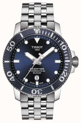 Tissot | Seastar 1000 Powermatic | Stainless Steel Bracelet | T1204071104101