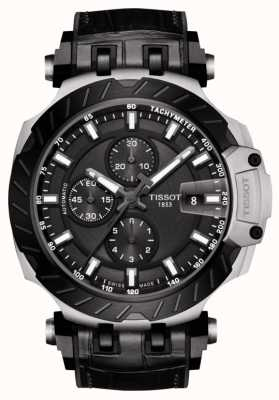Tissot | T-Race | Automatic Chronograph | Black Leather Strap | T1154272706100