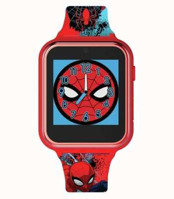 Avengers Smart Watch | Red Plastic Case | Printed Silicone Strap | SPD4588