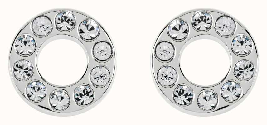 Radley Jewellery Radley Rocks   Silver Clear Stone Stud Earrings   RYJ1113