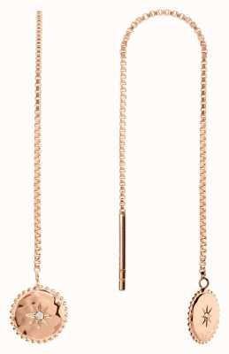Radley Jewellery Star Gazing | Rose Gold Plated Moon And Stars Earrings | RYJ1104S