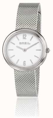 Breil Iris White Dial Stainless Steel Mesh Bracelet TW1776